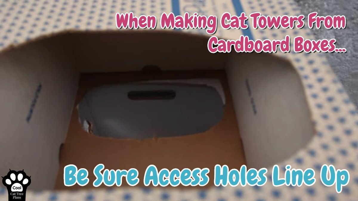 How To Make A Cat Tower Out Of Cardboard Boxes ~ Cat houses made out of cardboard. ~ How to build a cat tower easy, inexpensive and fast.