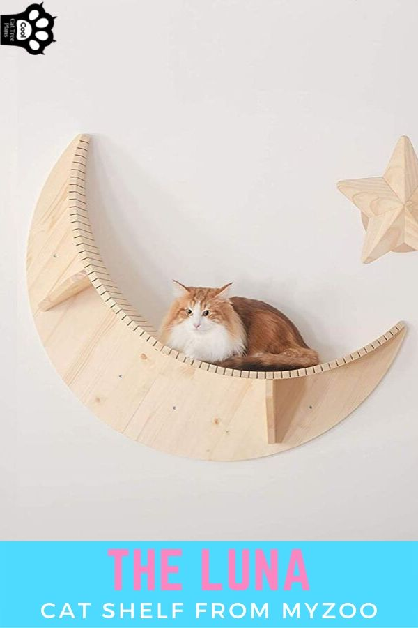 The Luna Cat Shelf from MyZoo is an excellent and beautiful addition to any house.